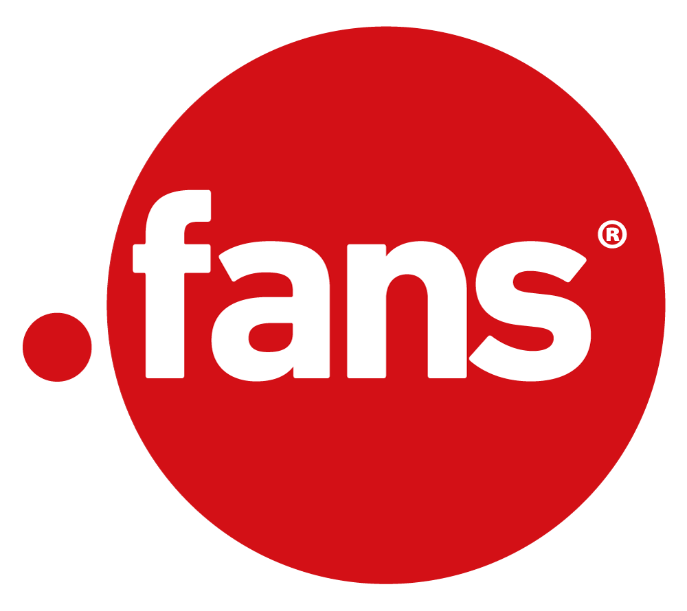 Logo der Top-Level-Domain .fans